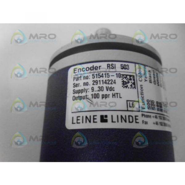LEINE & LINDE 515415-10 ENCODER *NEW NO BOX* #6 image