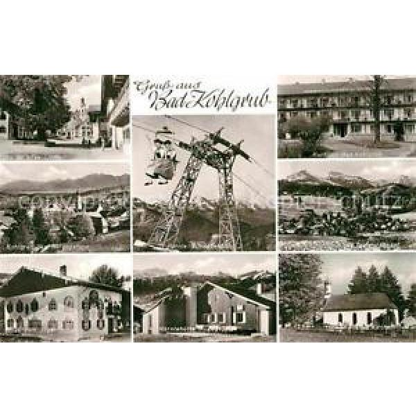 72850673 Bad Kohlgrub Alte Linde Kurhaus Hoernle Schwebebahn Haus zum Jaeger Ber #1 image