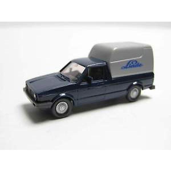 "Wiking 047-5 Volkswagen Caddy  "" Linde "" - stahlblau / silbergrau #1 image"