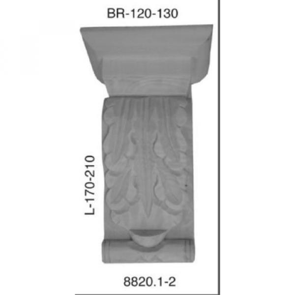 Kapitell Linde 85x120x210mm Schrank Kommoden Ornament  8820.2 #1 image