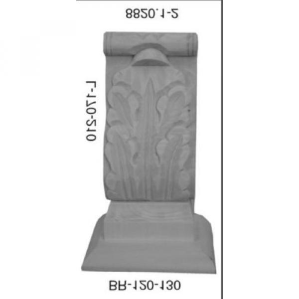 Kapitell Linde 85x120x210mm Schrank Kommoden Ornament  8820.2 #2 image