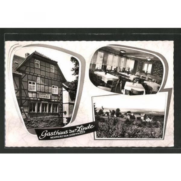 AK Neunkirchen, Gasthaus zur Linde mit Innenansicht, Ortsansicht von Neuwald au #1 image