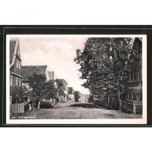 alte AK Golberode, Straßenpartie an der Linde #1 image