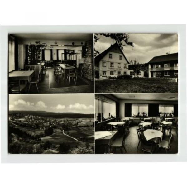 +++ 1970 Deutschland LOMBACH Gasthaus zur Linde Fam. Stein AK #1 image