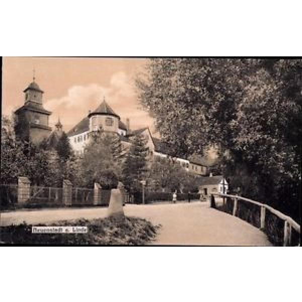 Ak Neuenstadt an der Linde, Straßenpartie mit Turm - 962291 #1 image
