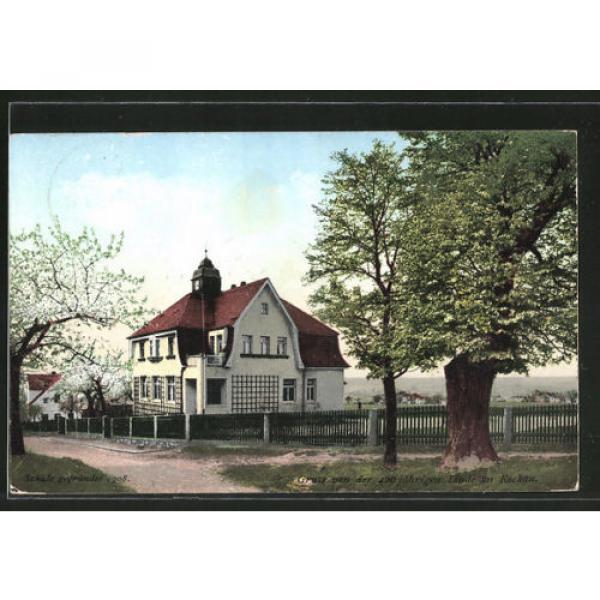 tolle AK Dresden-Rockau, Villa mit 400 jähriger Linde #1 image