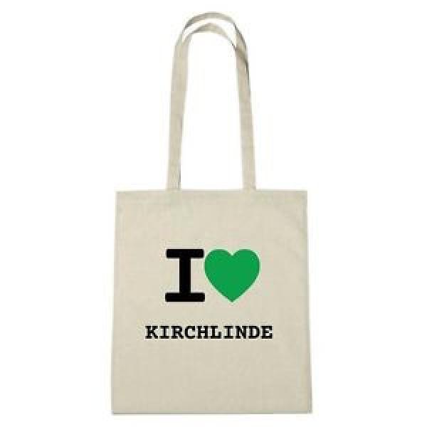 Eco-bag - I love KIRCH-LINDE - Jute Bag Eco-bag - color: natural #1 image