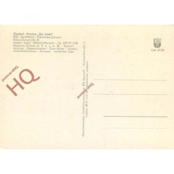 Postcard--Egloffstein, Gasthof-Pension 'Zur Linde' #2 image
