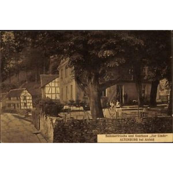 Ak Altenburg Alsfeld im Vogelsbergkreis, Gasthaus zur Linde, Terrasse - 1610936 #1 image