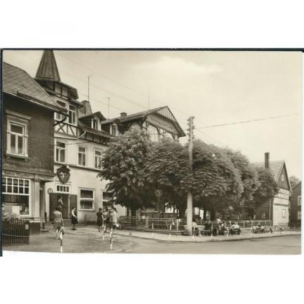 Ansichtskarte Finsterbergen - FDGB-Erholungsheim Zur Linde - schwarz/weiß #1 image