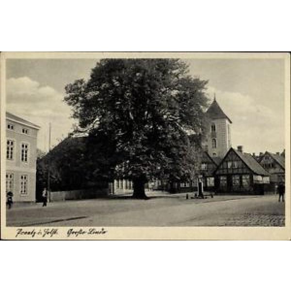 Ak Preetz in Schleswig Holstein, Große Linde, Kirchturm - 1168870 #1 image