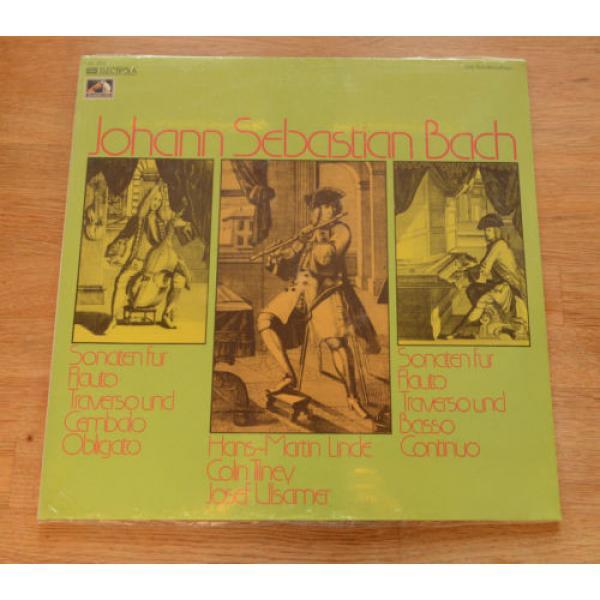 BACH still sealed LINDE TILNEY ULSAMER sonatas flute harpsichord viola EMI 64263 #1 image