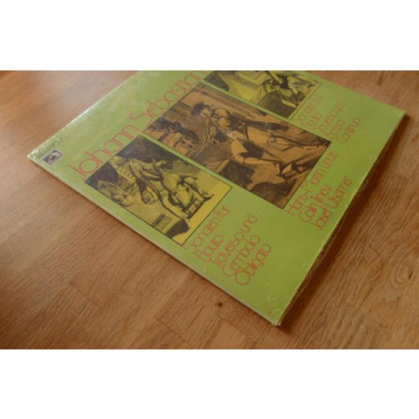 BACH still sealed LINDE TILNEY ULSAMER sonatas flute harpsichord viola EMI 64263 #3 image