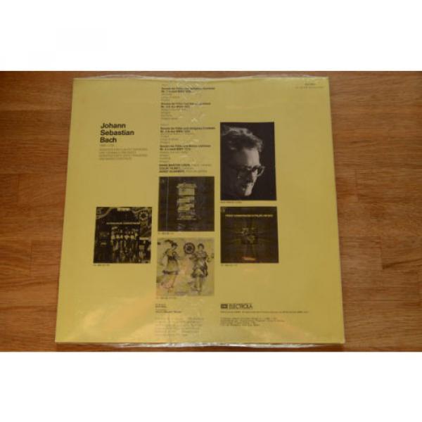 BACH still sealed LINDE TILNEY ULSAMER sonatas flute harpsichord viola EMI 64263 #4 image