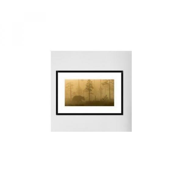 Global Gallery 'Morning Fog' by Svein Ove Linde Framed Photographic Print #3 image