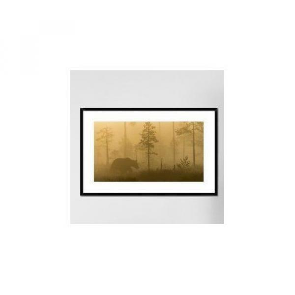 Global Gallery 'Morning Fog' by Svein Ove Linde Framed Photographic Print #6 image