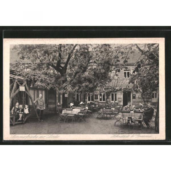 tolle AK Hohnstädt, Gasthaus Sommerfrische zur Linde, Terrasse 1929 #1 image