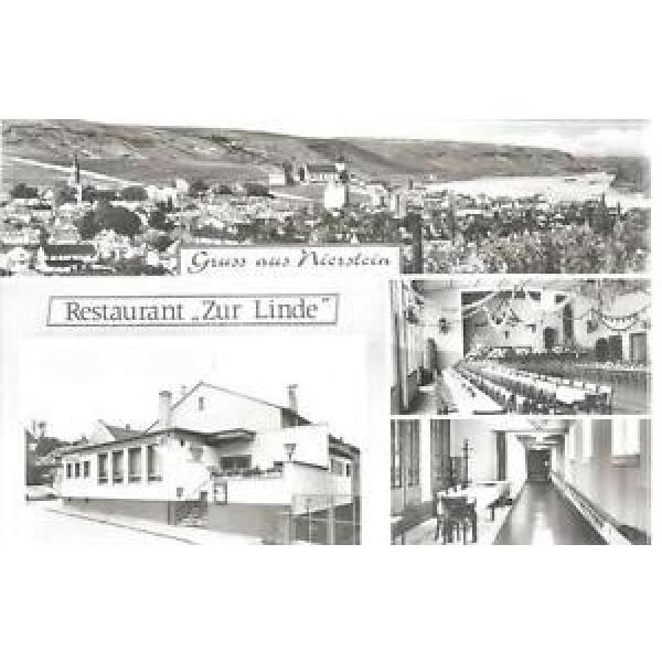 """(Mä/17/17) Alte Karte NIERSTEIN (1) Restaurant """"Zur Linde"""" #1 image"""