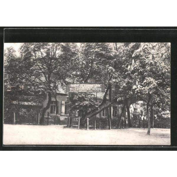 schöne AK Stolpe, Gasthof Zur krummen Linde mit Gartenrestaurant 1925 #1 image