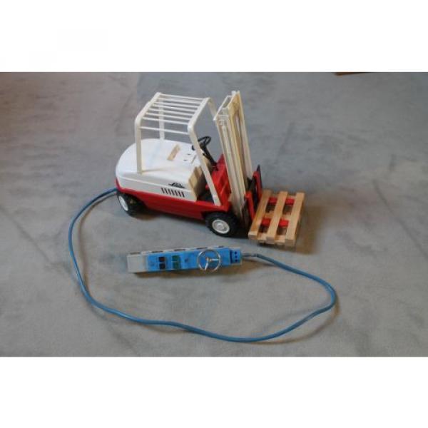 Antik Spielzeug Gama Gabelsrapler Typ H20 mit Kabelfernsteuerung 63022 Linde #3 image