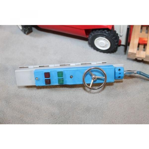 Antik Spielzeug Gama Gabelsrapler Typ H20 mit Kabelfernsteuerung 63022 Linde #4 image