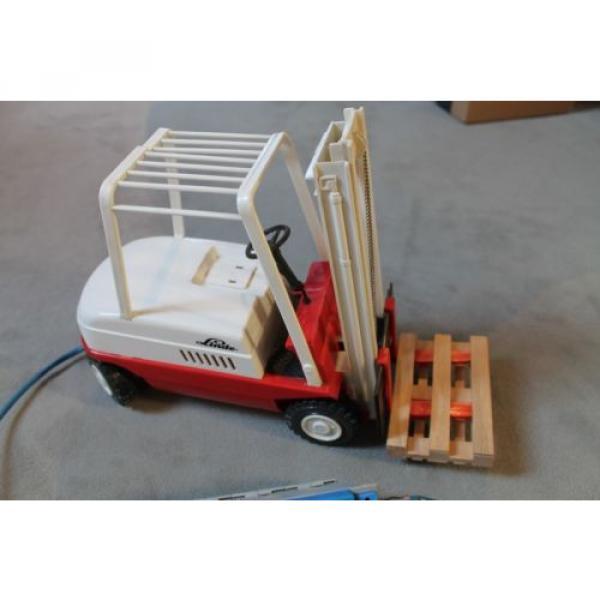 Antik Spielzeug Gama Gabelsrapler Typ H20 mit Kabelfernsteuerung 63022 Linde #5 image