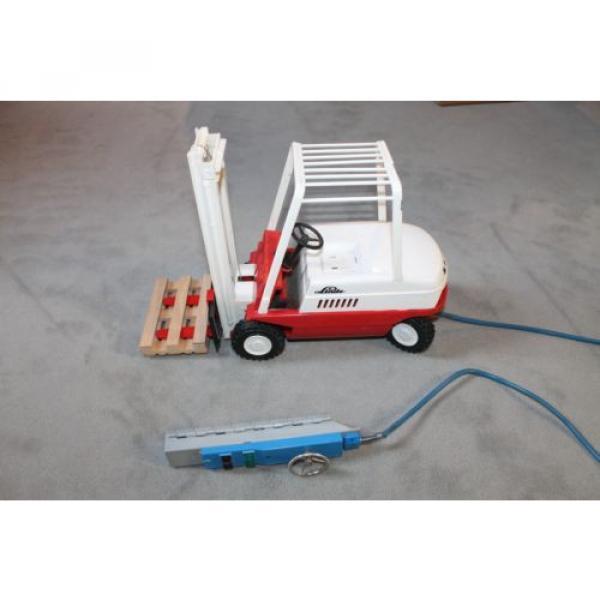 Antik Spielzeug Gama Gabelsrapler Typ H20 mit Kabelfernsteuerung 63022 Linde #6 image