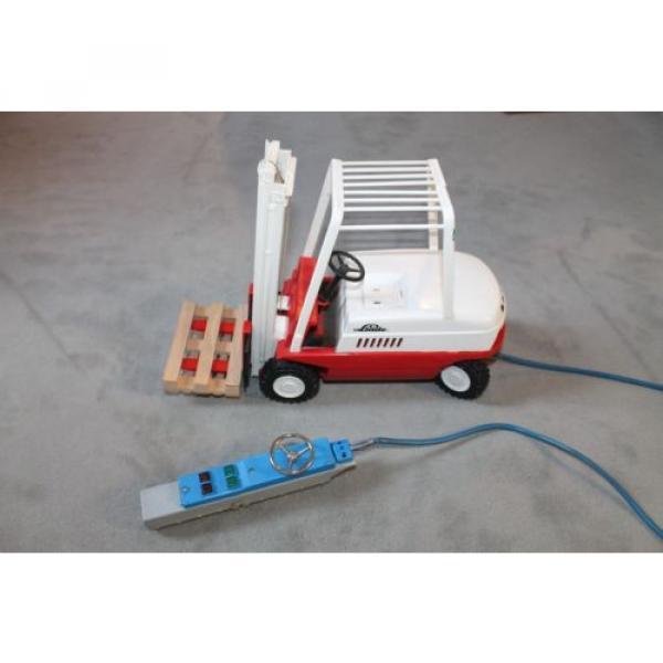 Antik Spielzeug Gama Gabelsrapler Typ H20 mit Kabelfernsteuerung 63022 Linde #7 image