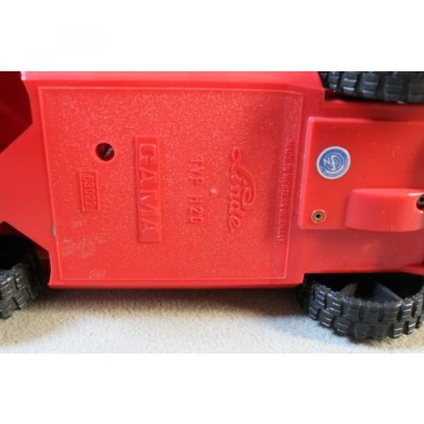 Antik Spielzeug Gama Gabelsrapler Typ H20 mit Kabelfernsteuerung 63022 Linde #8 image