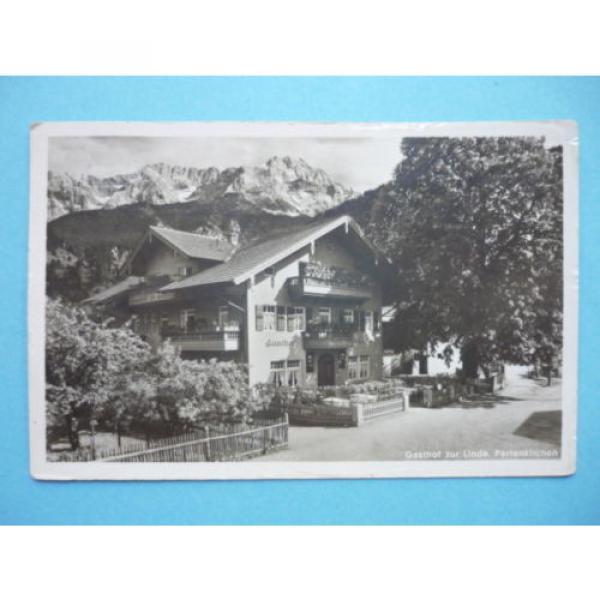 AK (1353) Partenkirchen, Gasthof zur Linde - gelaufen  1934 #1 image