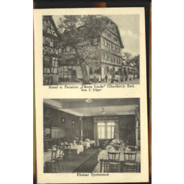 40462216 Oberkirch Baden Oberkirch i. Baden Hotel Obere Linde x 1928 Oberkirch #1 image