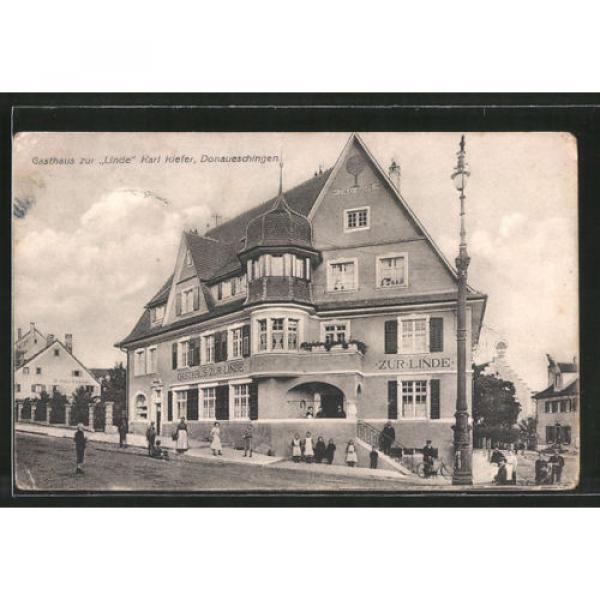 schöne AK Donaueschingen, Gasthaus zur Linde von Karl Kiefer #1 image
