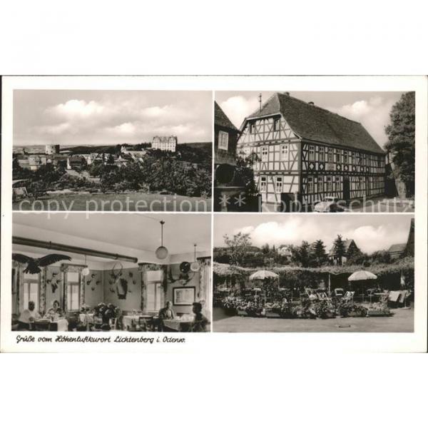 41584910 Lichtenberg Odenwald Ansichten Gasthaus Pension Zur Linde Fischbachtal #1 image