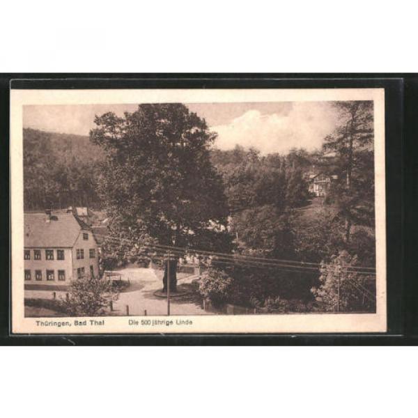 schöne AK Bad Thal, Blick auf die 500 jährige Linde #1 image