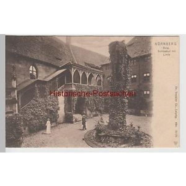 (65797) AK Nürnberg, Burg, Schlosshof mit Linde, um 1905 #1 image
