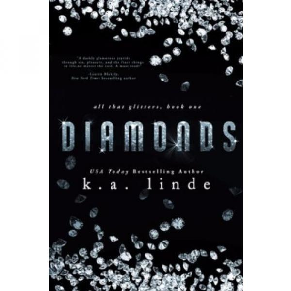 Diamonds by K.A. Linde (2015, Paperback, Signed) #1 image