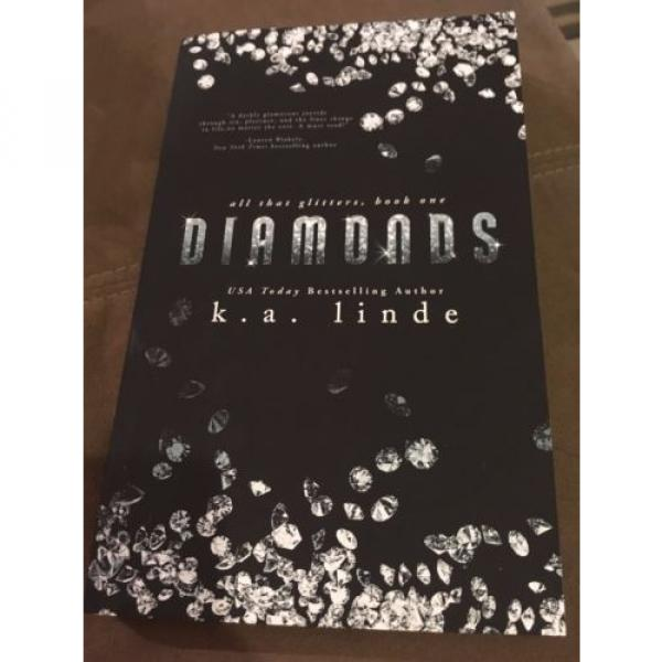 Diamonds by K.A. Linde (2015, Paperback, Signed) #2 image