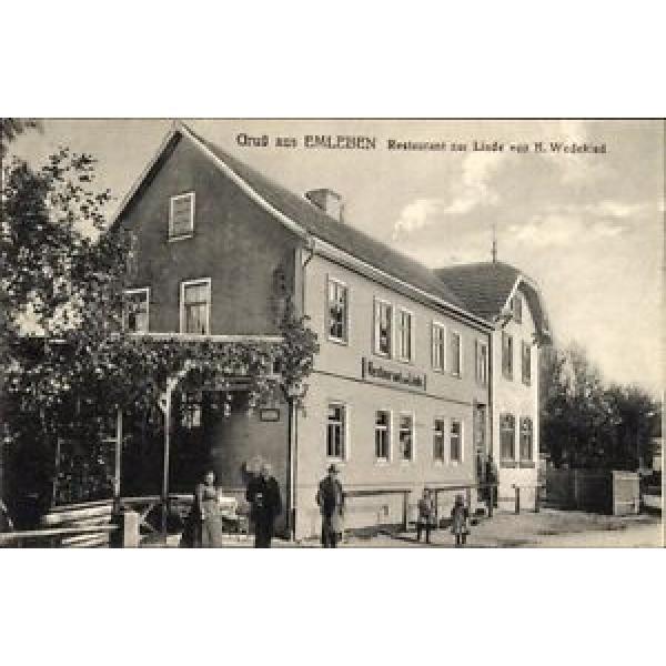 Ak Emleben Thüringen, Restaurant zur Linde, Bes. H. Wedekind - 10030231 #1 image