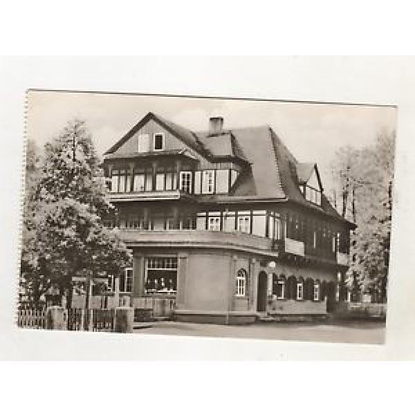 C-3 / Alte Ansichtskarte DDR Sitzendorf HO Hotel Zur Linde #1 image