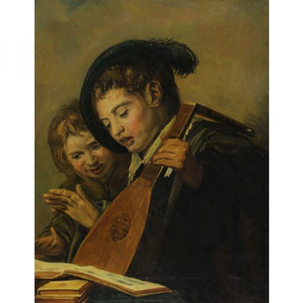 Autografato J. v. del Linde Jr Discorso Bambini Tipo di Rembrandt od. Manico ? #1 image