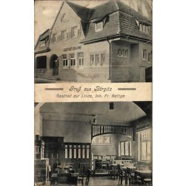 Ak Börgitz Stendal in Sachsen Anhalt, Gasthof zur Linde, Inh. Fr.... - 10048796 #1 image