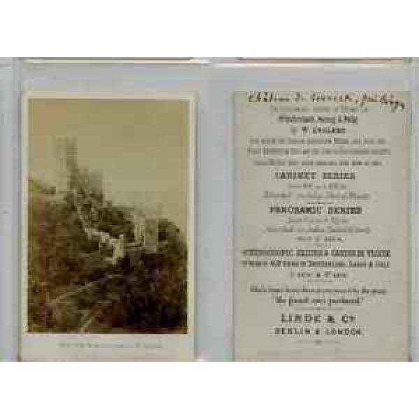 Linde, London CDV vintage albumen carte de visite, Tirage albuminé  6,5x10,5 #1 image