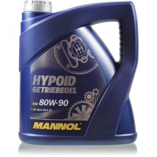 Original MANNOL 1x4 Liter Hypoid Öl Getriebeöl 80W-90 API GL 4/GL 5 LS MN8106-4 #1 image