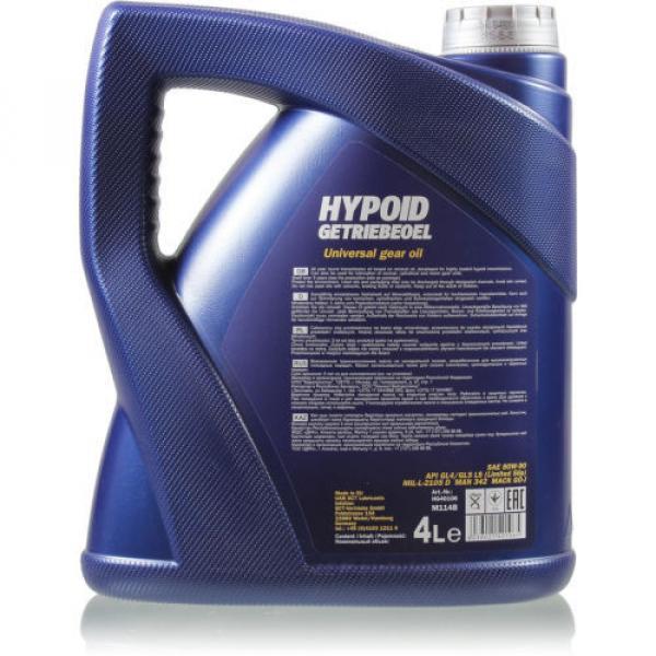 Original MANNOL 1x4 Liter Hypoid Öl Getriebeöl 80W-90 API GL 4/GL 5 LS MN8106-4 #2 image