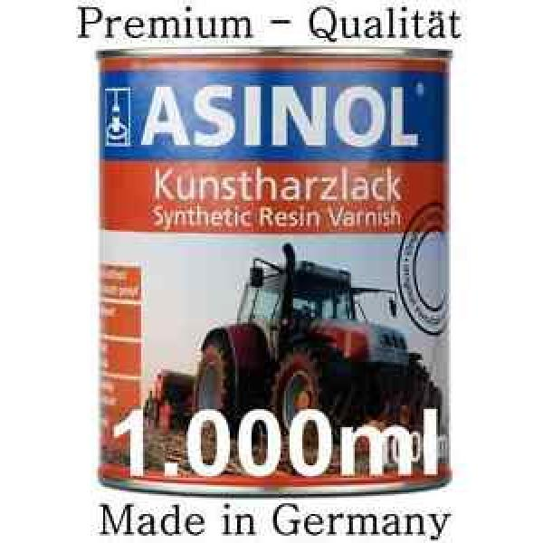 ASINOL Linde rot 1.000ml Lack Farbe Kunstharzlack #1 image
