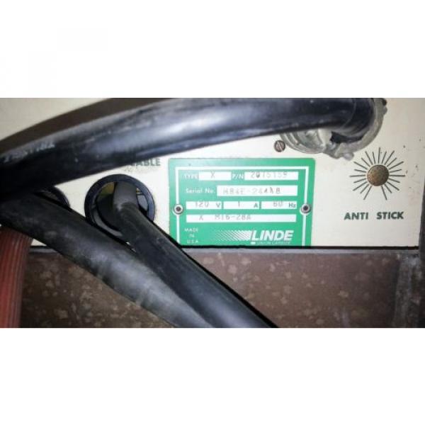 LINCOLN IDEALARC R3S-325 DC MIG WELDER W/ LINDE SPOOL GUN FOR ALUMINUM WELDING #11 image
