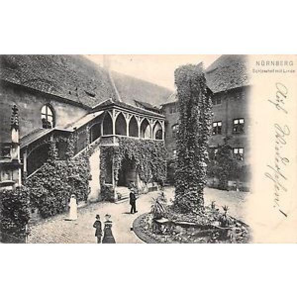 Nürnberg - Schlosshof mit Linde gl1906 166.506 #1 image