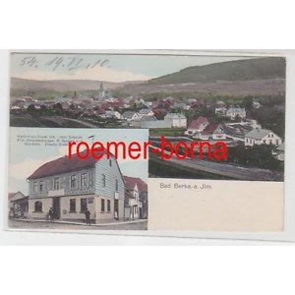 78938 Mehrbild Ak Bad Berka an der Ilm Gasthof zur Linde um 1910 #1 image