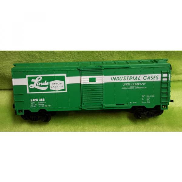 Life Like HO Scale 8475 40' Box Car Linde Union Carbide Car - Boxed #3 image
