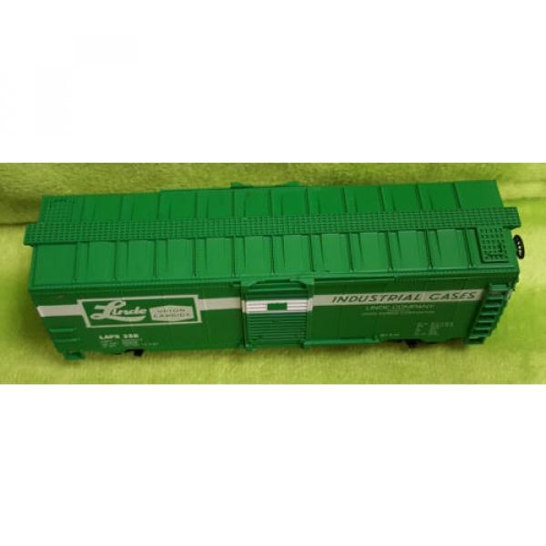 Life Like HO Scale 8475 40' Box Car Linde Union Carbide Car - Boxed #4 image